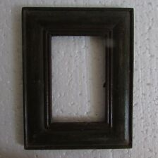 Vintage Old Hand Carved Unique shape Wooden Picture Photo Frame Collectible