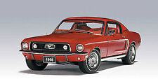 1:18 Autoart Millennium 1968 FORD MUSTANG GT 390 Red