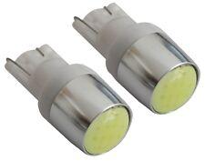 2x ampoule T10 W5W 12V LED COB HIGH POWER blanc veilleuses éclairage intérieur