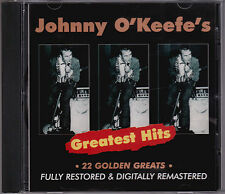 Johnny O'Keefe - Greatest Hits - CD (1997 Festival TVD91106 Australia)
