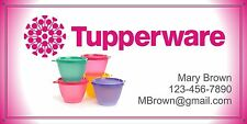 Tupperware Banner Trade Show Events 2'x4' w/ grommets Customize with YOUR Info!