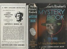 Mary Roberts Rinehart's MYSTERY BOOK circular staircase man in lower jennie bric