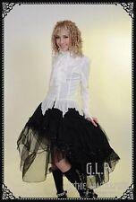 Gothic Punk Rave GLP Lolita Visual Kei Rock schwarz Pailletten 32 34 36 38