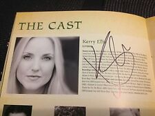 Wicked the Musical DOUBLE SIGNED Programme. Kerry Ellis.