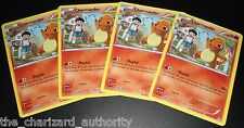 4x Charmander RC3/RC32 XY Generations Radiant Collection NEAR MINT Pokemon Cards