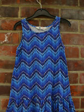 GORGEOUS  H&M Zig Zag Dress 6-7yrs 100% Cotton  EUC   Next Summer