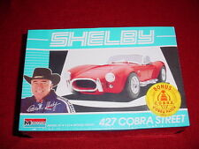 NEW CARROLL SHELBY 427 COBRA STRREET CAR MODEL SCALE: 1/24 COBRA PATCH