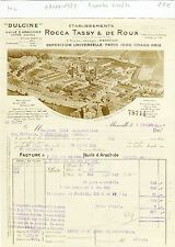 Dépt 13 - Marseille - Superbe Entête d'une Huilerie du 07/11/1928