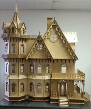 Leon Gothic Victorian Mansion Dollhouse 1:12 (New for 2015)