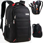 Mens Waterproof 15'' 16'' 17'' Laptop Bag Backpack Travel Hiking School Bag New