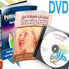 How to Draw & Paint 70+ pdf learn drawing painting DVD