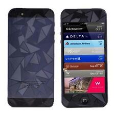 3D Diamond Front Back Anti-Glare Matte Screen Protector for iPhone 5 5G 5S LNC