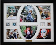 Alice in Wonderland Limited Edition Signatures Framed Memorabilia