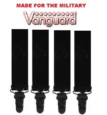BLACK Vanguard Shirt Holders /Shirt Stays / garters US Air Force CAP 2650300A