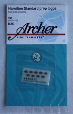 Archer 1/32 Hamilton Standard Aircraft Propeller Logos (9 pieces) AR200032