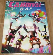 B.A.P BAP CARNIVAL 5th Mini Album SPECIAL Ver. CD + PHOTOCARD + FOLDED POSTER