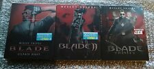 Blade Blade 2 and Blade Trinity Steel Book specification Japan Blu-ray New