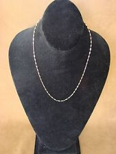 """Southwestern Jewelry Copper Chain Necklace 19"""" Long"""