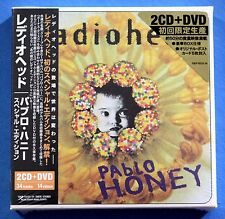 RADIOHEAD Pablo Honey Japan Limited Edition 2CD + DVD New Sealed