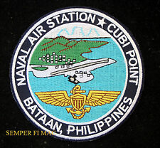US NAVAL AIR STATION NAS CUBI POINT PATCH PIN UP RADFORD FIELD PHILIPPINES GIFT