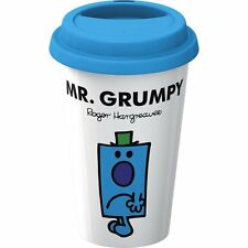 Creative Tops Double Walled Porcelain Mr. Men Mr. Grumpy Take Away Travel Mug Pl