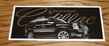 2008 Cadillac Escalade Foldout Accessories Sales Brochure 08