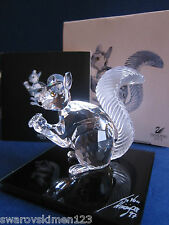 Swarovski SCS 10th anniversary squirrel Limited Edition 1997