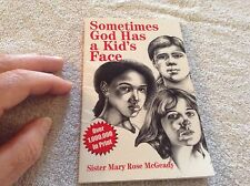 Book sometimes God has a kids face