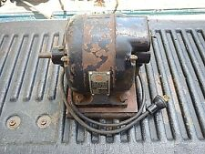 Working Vintage Sunlight Electric Motor 1/4 HP 1750 110V 60 cyc Wood Table Saw