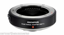 Olympus mmf-3 Micro Four Thirds adapter for Four Thirds lenses