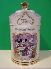 LENOX MICKEY and FRIENDS FLOUR CANISTER from The Disney set NEW in BOX