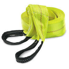 "HFS 30ft x 4"" Recovery Strap 10TON Polyester Tow Strap Rope 20,000LBS breaking"