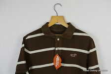 HOLLISTER MENS POLO SHIRT XL SLIM SURFER SPORT STRIPED TWO TONED CASUAL P 45