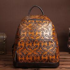 Women's Genuine Leather Handbag Vintage Fashion Shoulder Backpack
