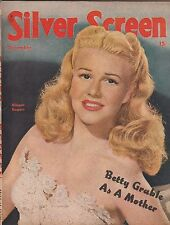 SILVER SCREEN MAGAZINE, DECEMBER 1947 ISSUE-GINGER ROGERS COVER