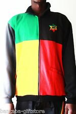 Rasta Zip Jacke_ Zip Jacket_Rasta, Reggae, Africa
