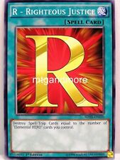 YU-GI-OH - 3x R-Righteous Justice-SDHS-Structure Deck Hero Strike