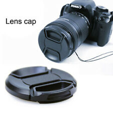 49mm Front Lens Cap Hood Cover Snap-on for Canon Sony Olympus Nikon Fuji Camera