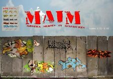 MAiM Models 1/35 Urban Graffiti Decals-Set No.5