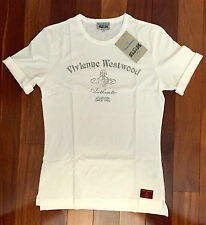 NEW AUTHENTIC VIVIENNE WESTWOOD MAN LONDON MUSCLE FIT 100% COTTON T-SHIRT SIZE S