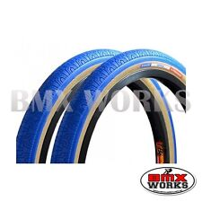 """Panaracer HP406 Blue 20"""" X 1.75"""" Freestyle BMX Tyres - Sold In Pairs"""