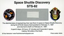 Own a Genuine Piece of Space Shuttle Discovery - Flown in Space - For Just $4.95