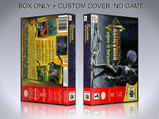 CASTLEVANIA LEGACY OF DARKNESS. Box/Case. Nintendo 64. BOX + COVER. (NO GAME).