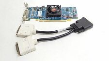 New Dell AMD ATI Radeon HD 6350 512MB DDR3 Low Profile Video Card W DVI Splitter