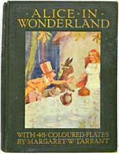 1916 1st ALICE IN WONDERLAND Alice's MARGARET W TARRANT Adventures FIRST EDITION