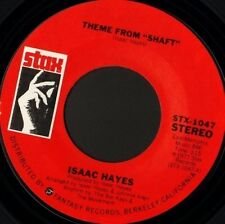 "ISAAC HAYES theme from shaft 7"" WS EX/ usa stax STX1047"