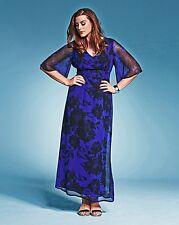 BESPOKEF it Floral Print Maxi Dress UK 26 Standard fit (B-DD) Box1458 i