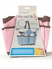 New Munchkin Portable Diaper Caddy Changing Kit, Organizer Pink
