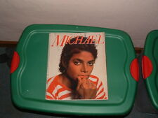 MICHAEL JACKSON IN CONCERT / WITH FRIENDS / AT PLAY - 1984 COLOR PHOTO BOOK