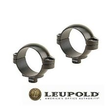 Leupold Quick Release Rifle Scope Rings 1-in Low 49971 Matte